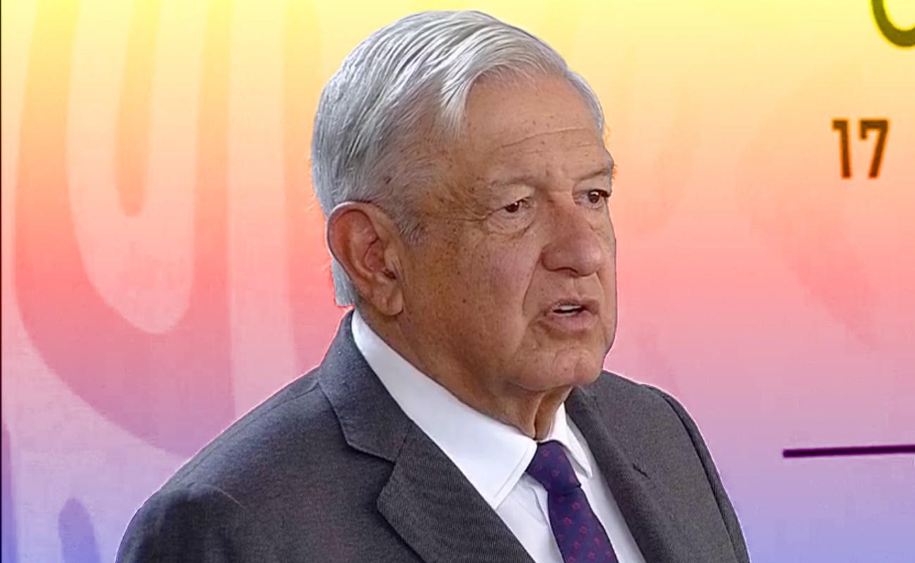 Pueden ir partidos a la ONU y la OEA, no se oculta nada: López Obrador