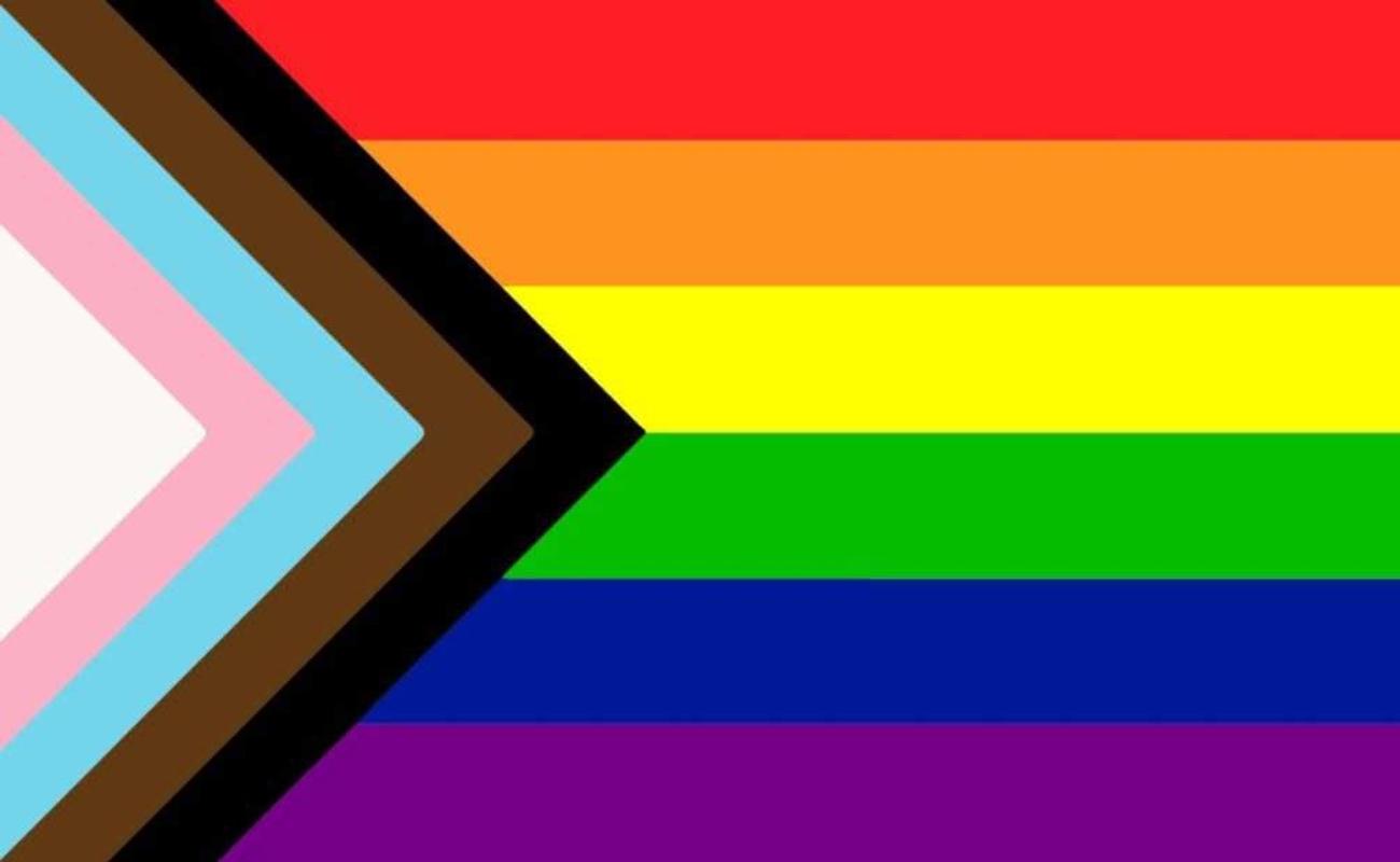 Se actualiza bandera del orgullo; con nuevos colores para ser más inclusiva