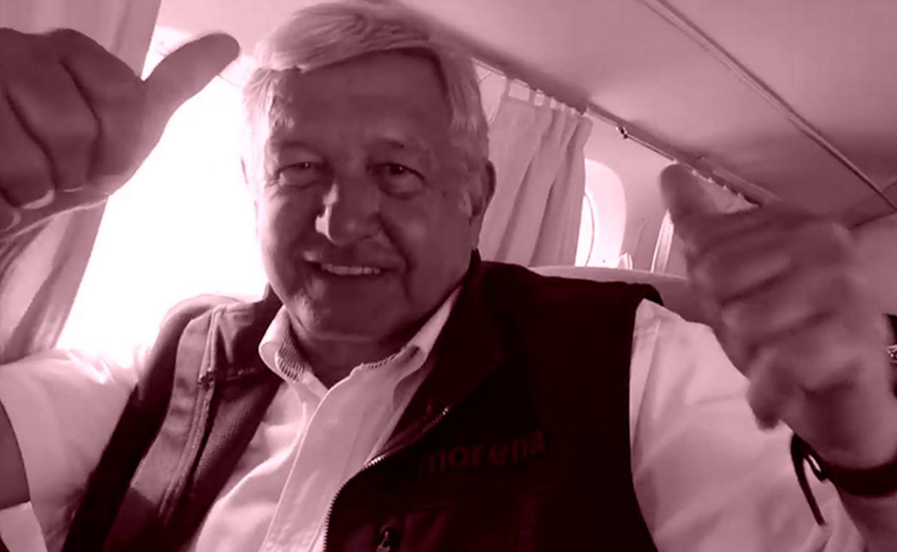 Servicio aéreo utilizado por AMLO no fue validado por INE
