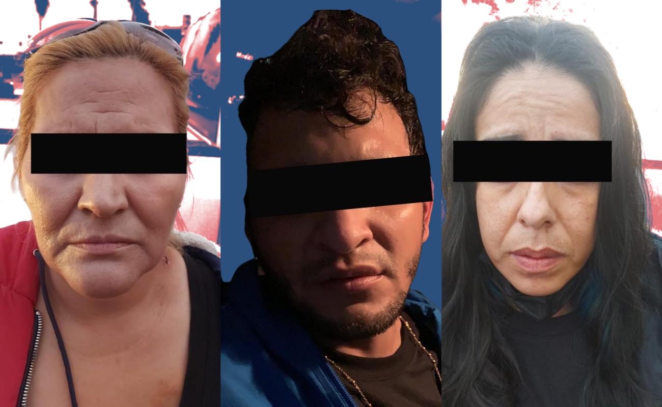 """Capturan a tres integrantes de """"Los Mercenarios"""", célula del Cártel de Sinaloa en Ensenada"""