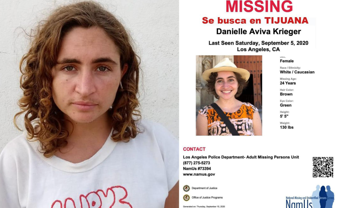 Localizan en Playas de Tijuana a joven estadounidense extraviada