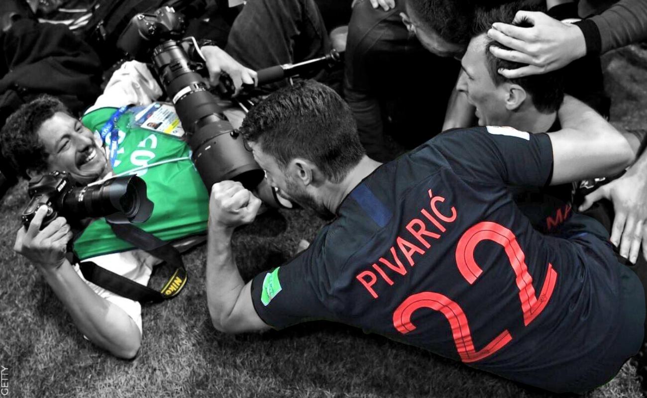 Yuri Cortez, capturando la pasión de los croatas y del Mundial
