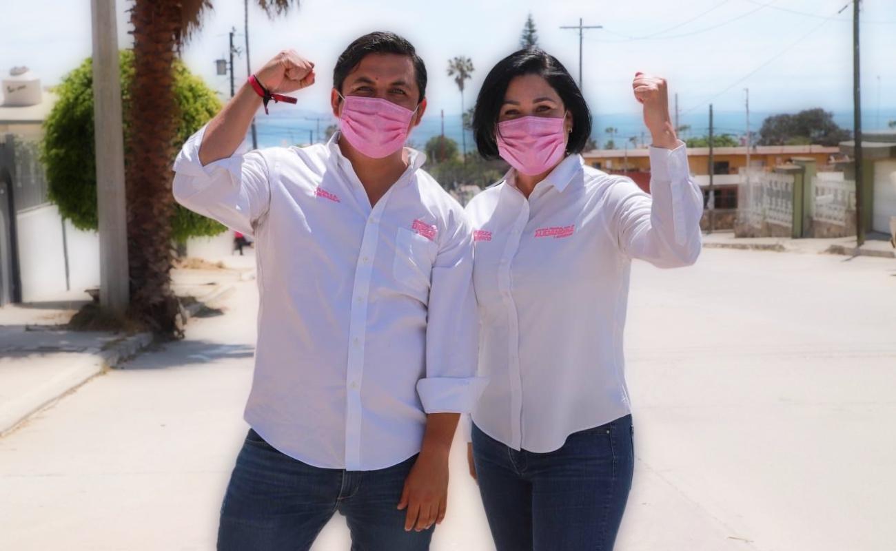 """Venimos a ganarle a Morena"": Alejandra Gutiérrez y Diego Arregui"