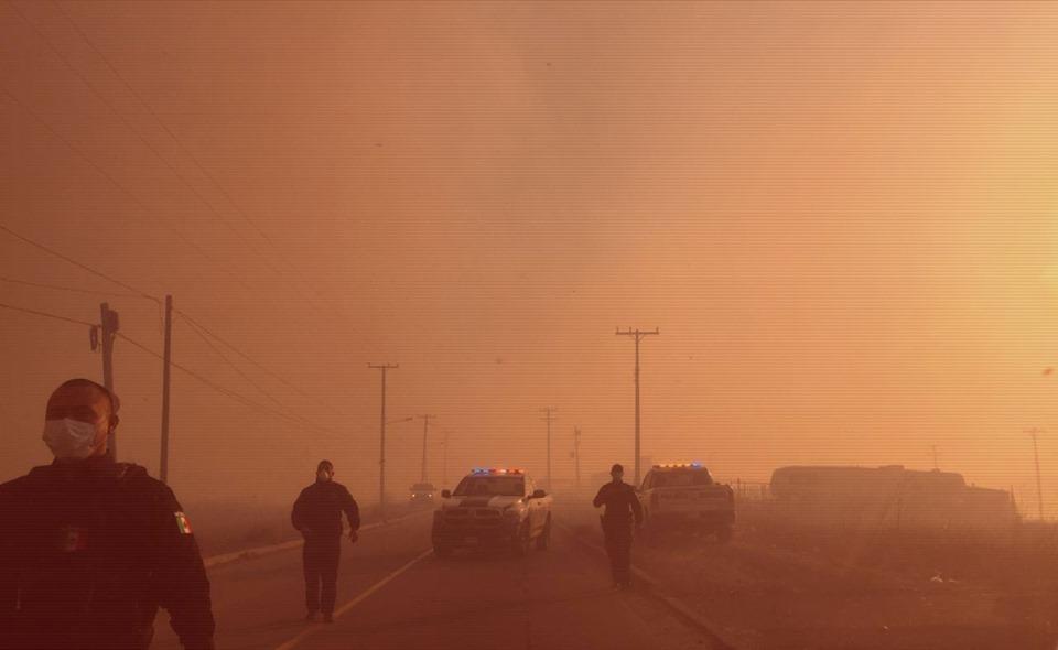 Declaran Estado de Emergencia en Playas de Rosarito por incendios