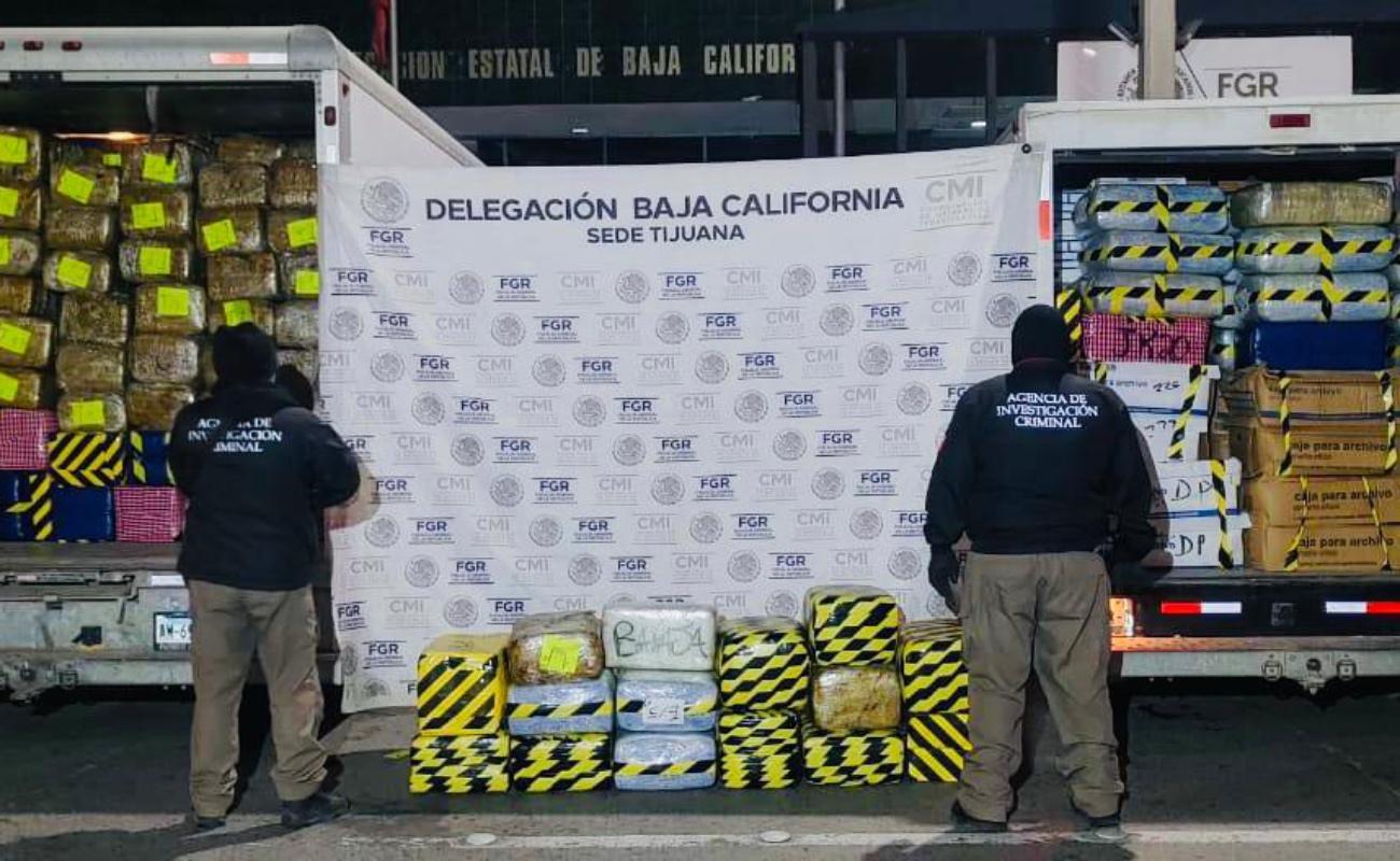 Hallan 5 toneladas de marihuana tras cateo en el Murúa