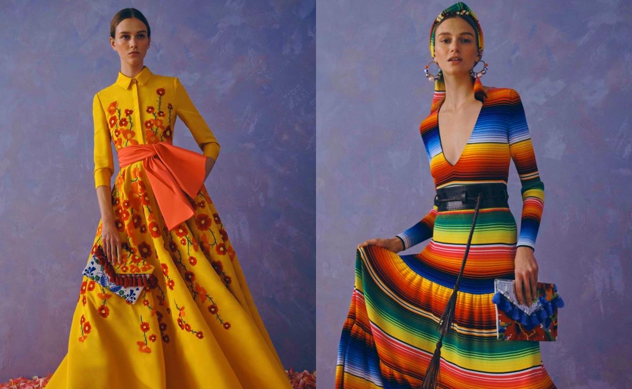 México reclama a Carolina Herrera utilizar patrones de pueblos indígenas