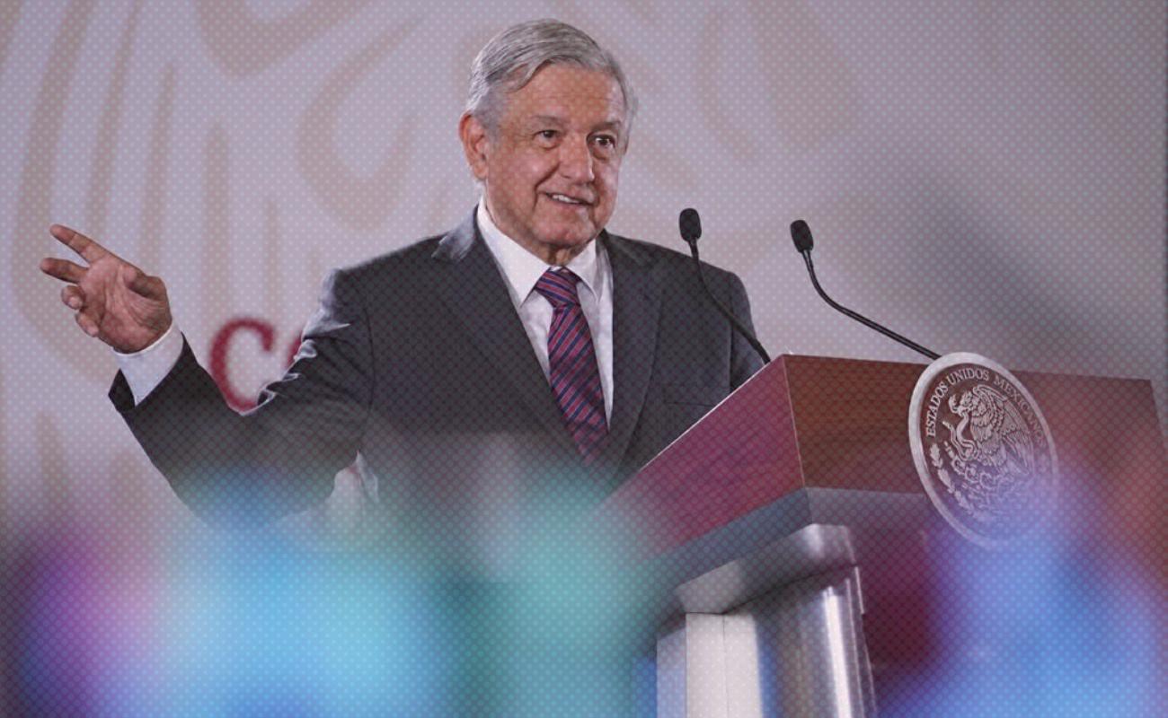 """""""No hay condiciones para un golpe de Estado"""": AMLO"""