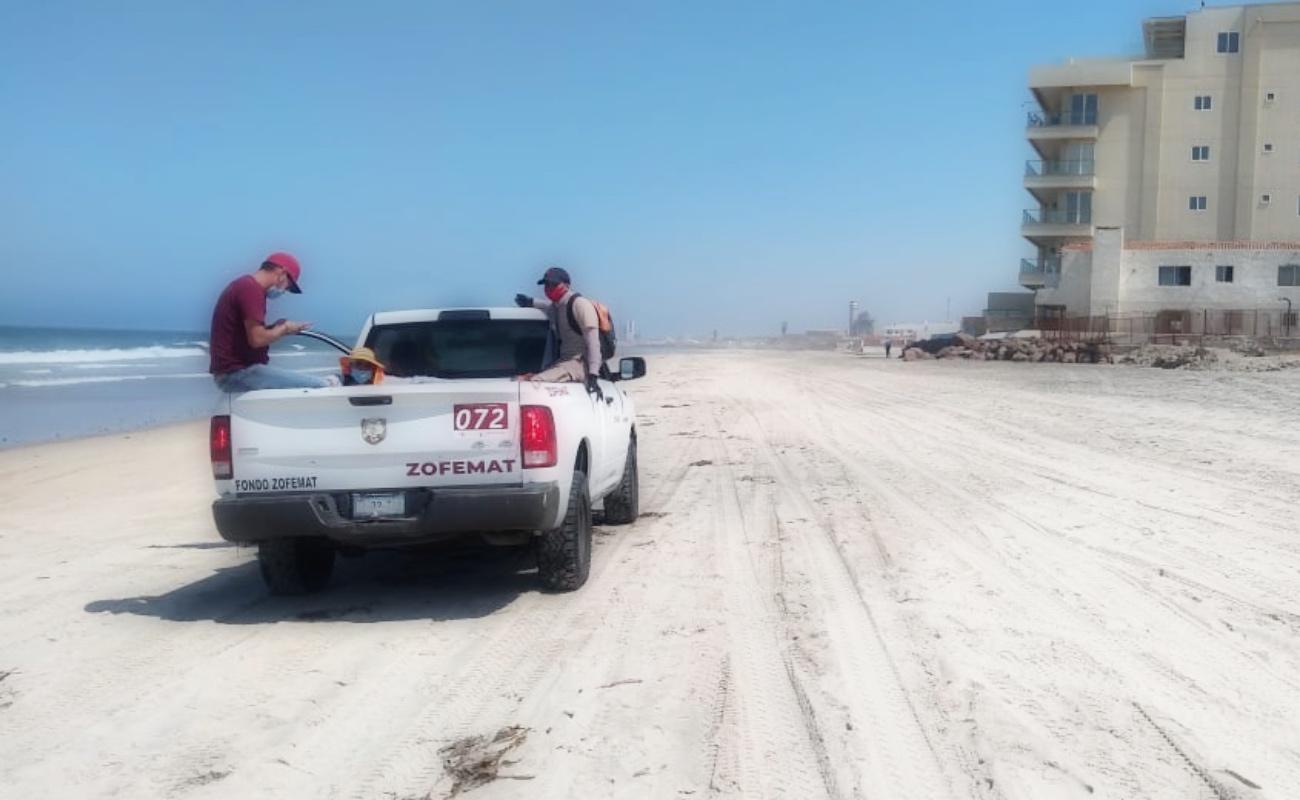 Sigue cierre total de playas durante sábado y domingo en Rosarito