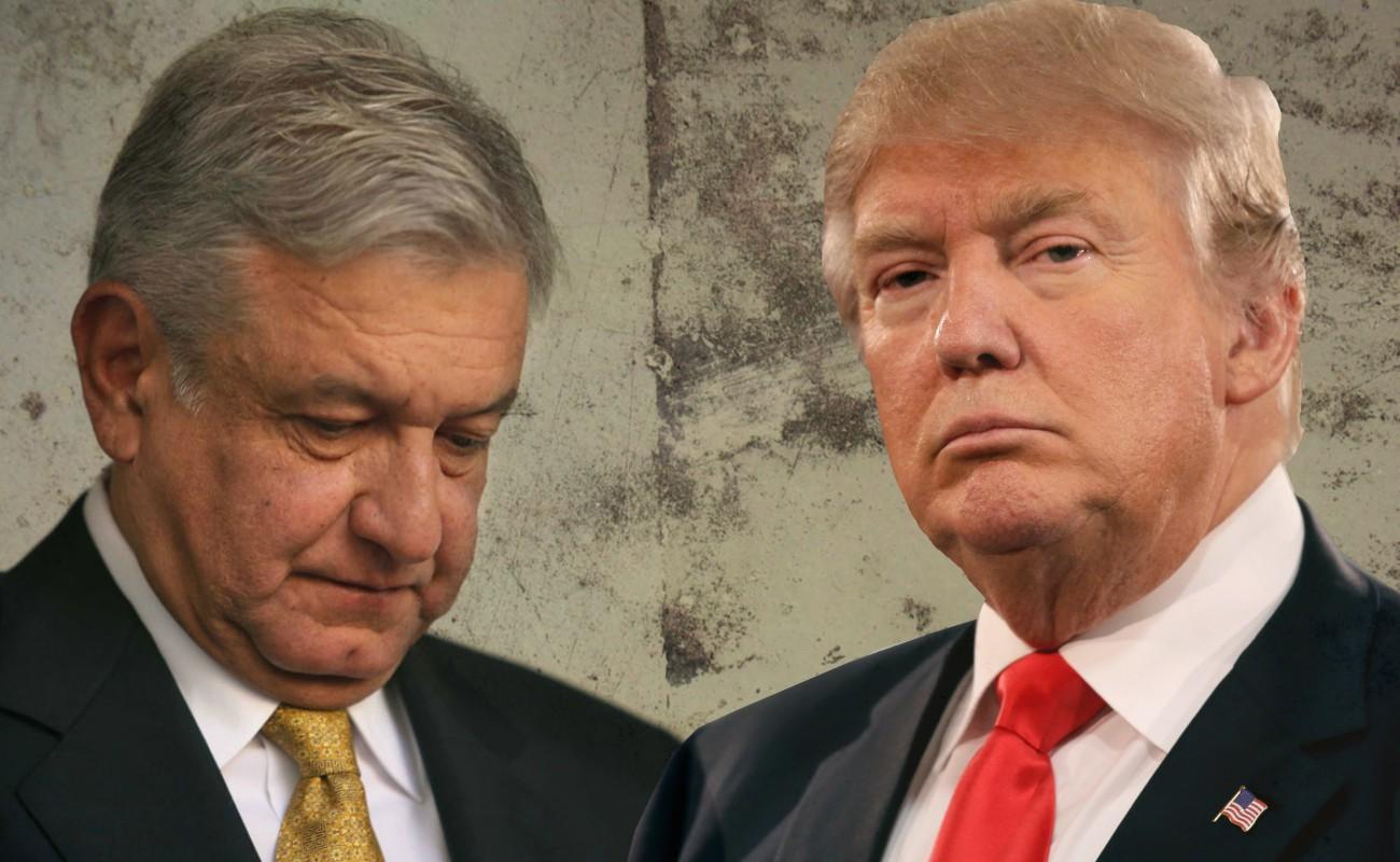 """""""Piénselo, y si necesita (apoyo) llámeme"""", le dijo Trump a AMLO"""