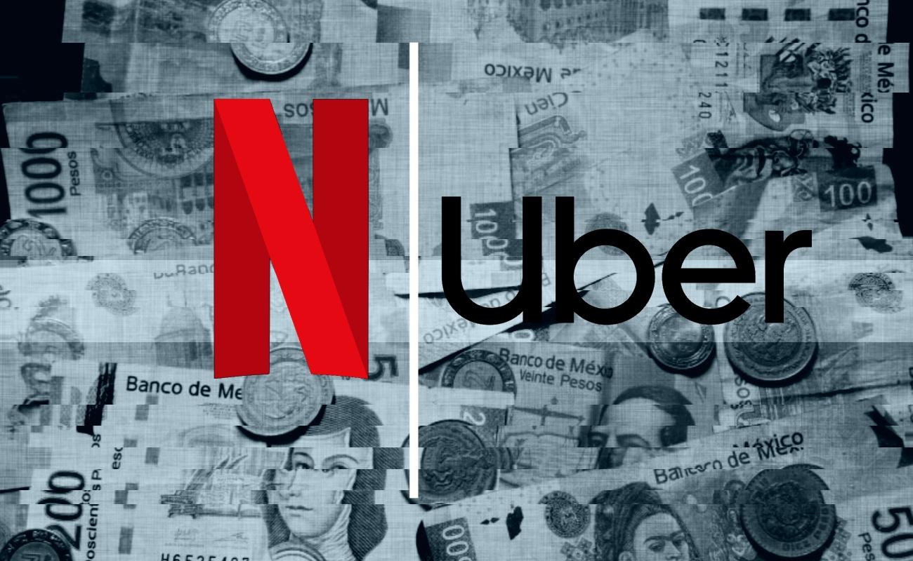 México cobraría impuestos a Uber y Netflix a partir del año entrante