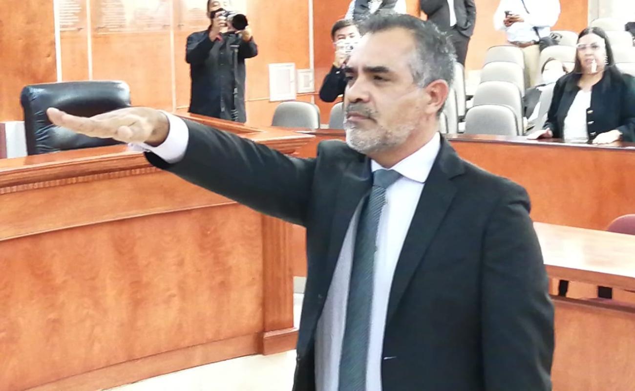 Elige Congreso del Estado a Carlos Barboza como Fiscal para Delitos Electorales