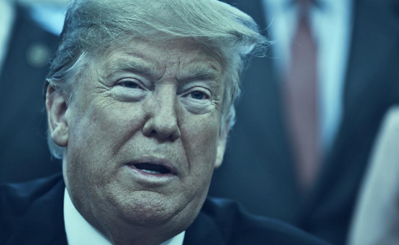 """Trump se enoja con líderes demócratas y abandona reunión: """"Fue pérdida total de tiempo"""", señala"""