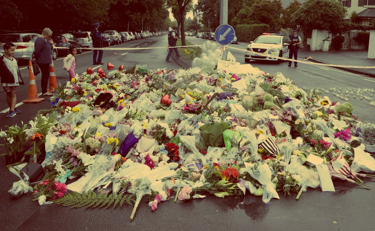 Rinden homenaje a víctimas de ataque en Nueva Zelanda