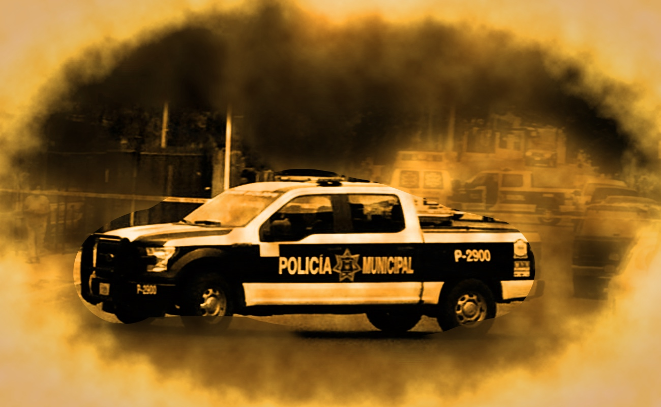 Dejan pick up con dos cadáveres en el Bulevar 2000