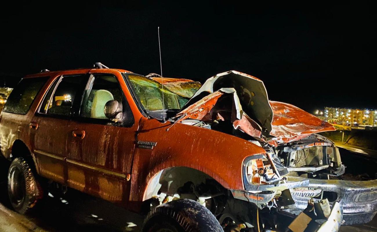 Dos muertos y 16 heridos por accidentes de tránsito en Tijuana durante las lluvias