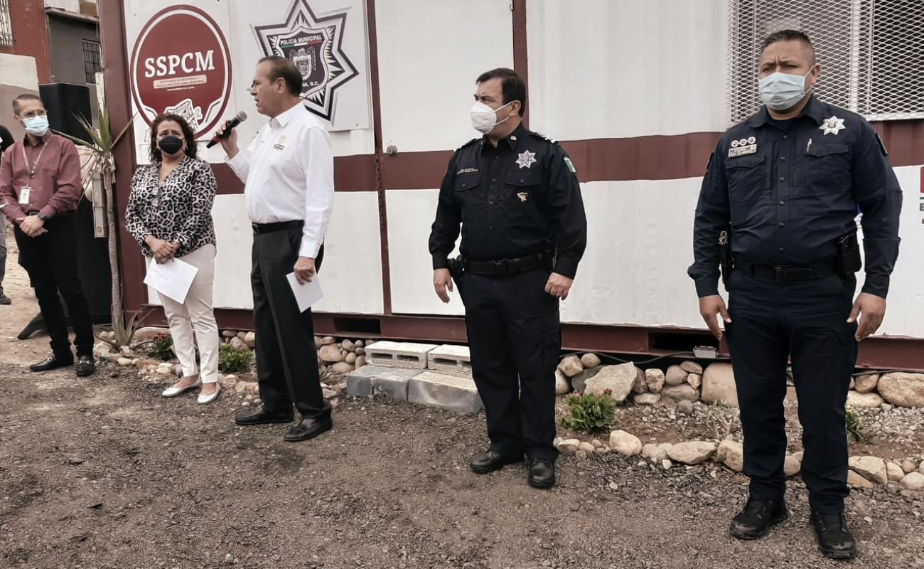 Activan caseta policiaca en Hacienda Linda Vista
