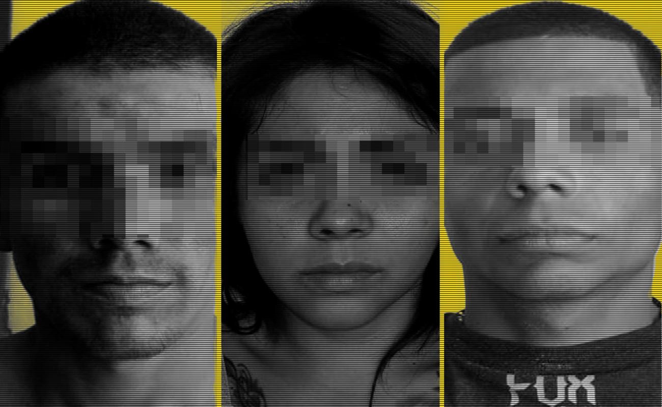 Capturan a tres jóvenes armados con fusiles de asalto; entre ellos una mujer