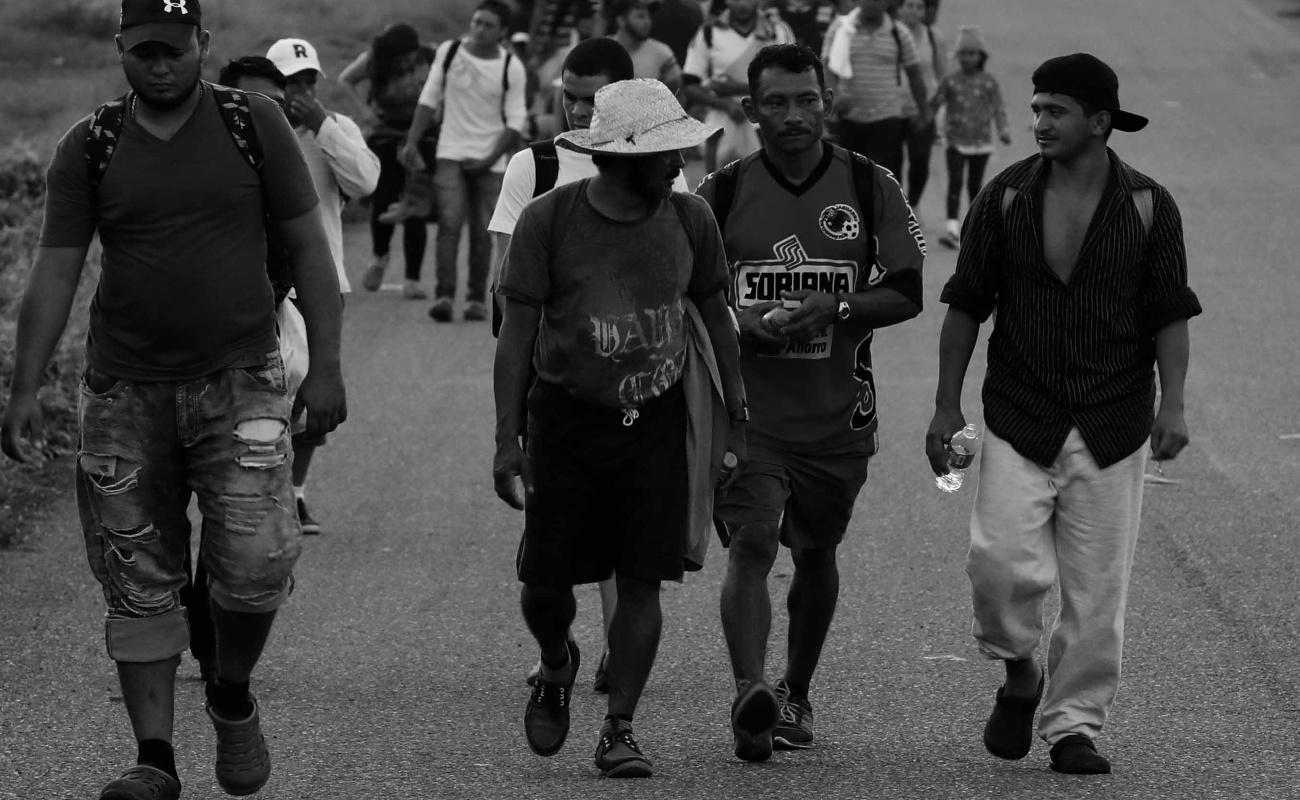 Caravana migrante podría sumar ya más de cinco mil personas