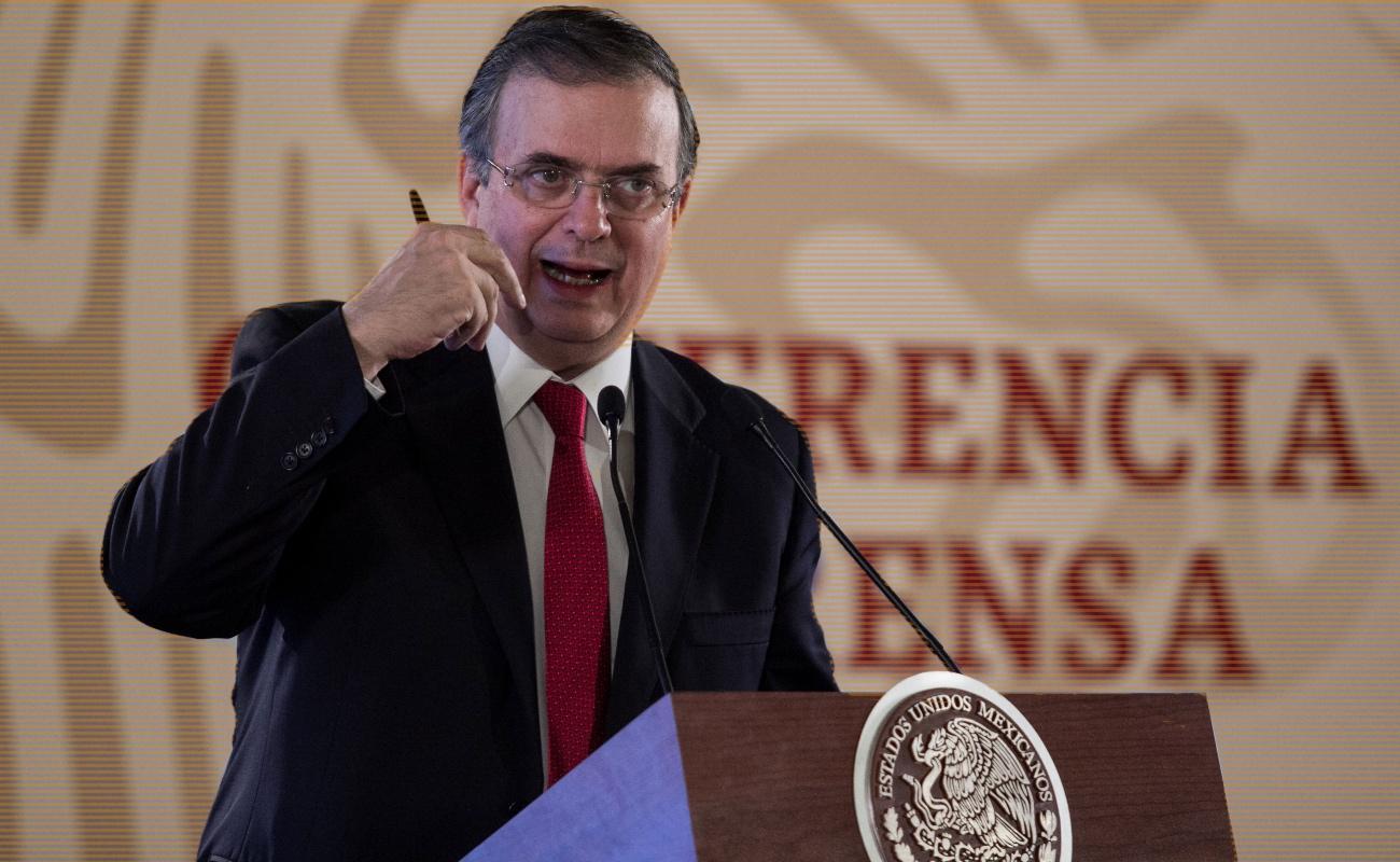 Estados Unidos debe hacer mucho más contra tráfico de armas: Marcelo Ebrard