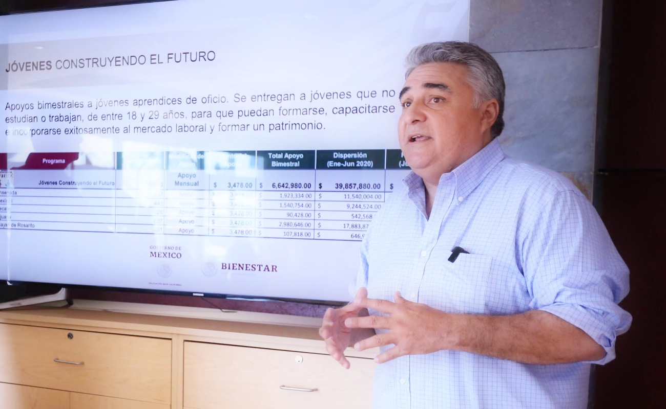 Entrega gobierno de AMLO apoyos por 2 mmdp a Baja California