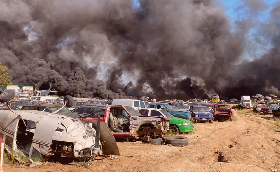 Quema de basura y de terrenos provocaron centenar de incendios: Protección Civil