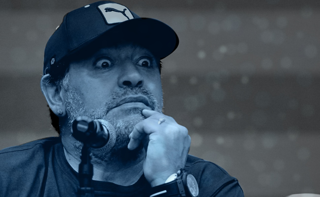 Internan a Maradona en hospital