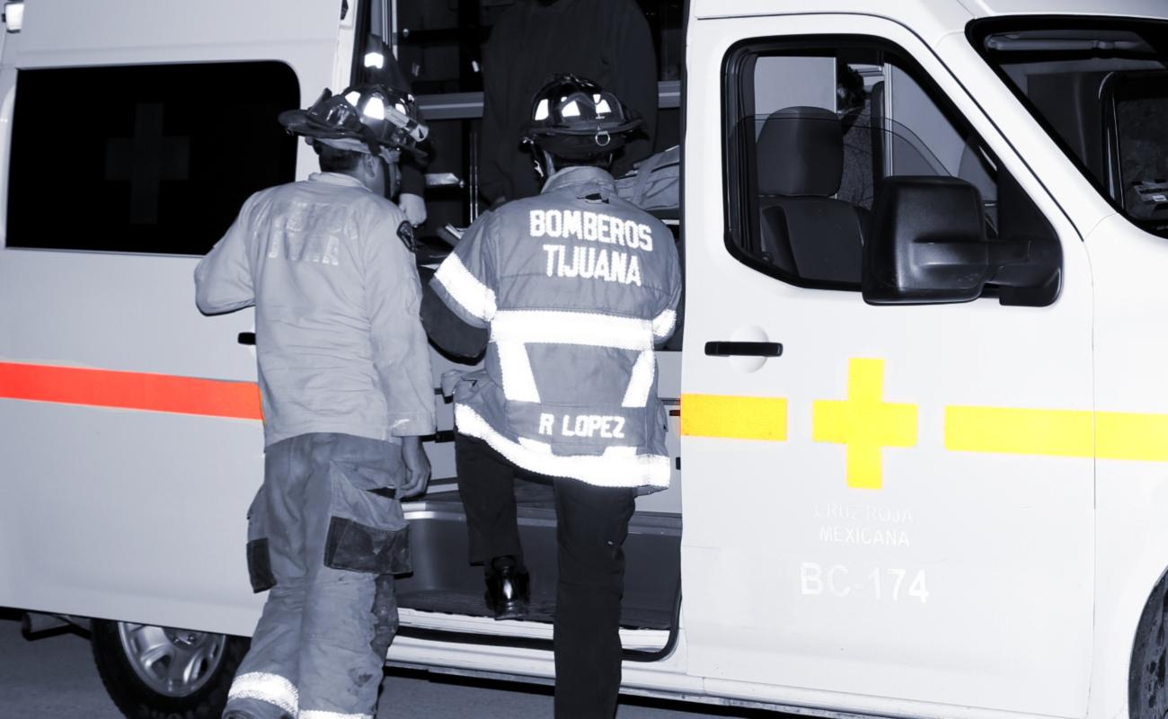 Fallece hombre y una joven en accidente de motocicleta