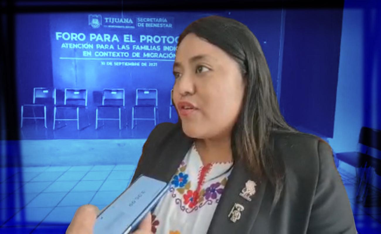 Indígenas tzotziles en Baja California expuestos a inseguridad yabuso policial: Evelyn Sánchez