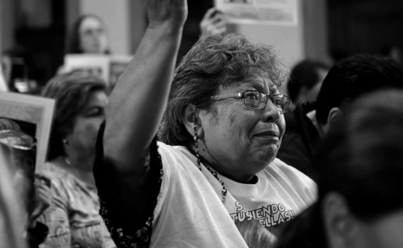 """""""La CNDH no hace nada, solo simulación"""" madre de desaparecido"""