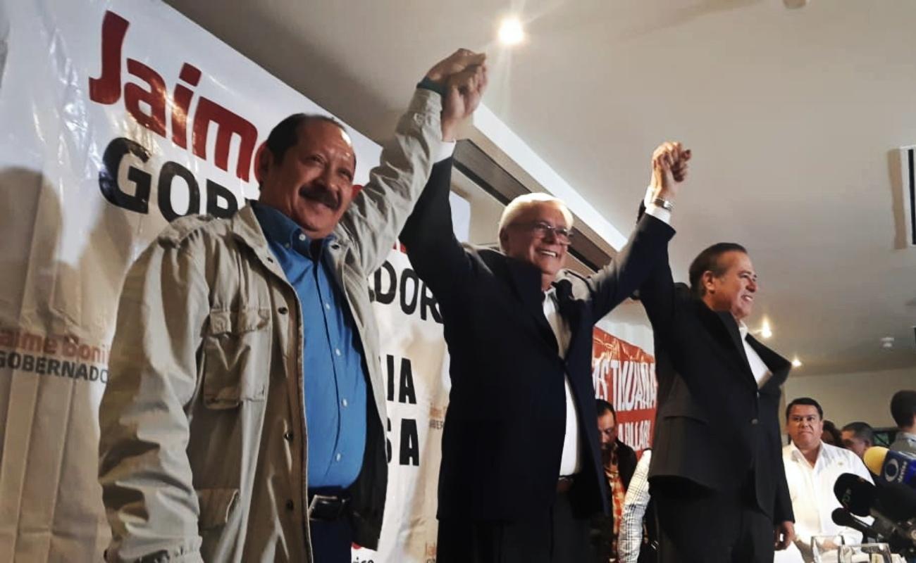 Anuncia Morena triunfo en gubernatura de BC, cuatro alcaldías y 17 diputaciones