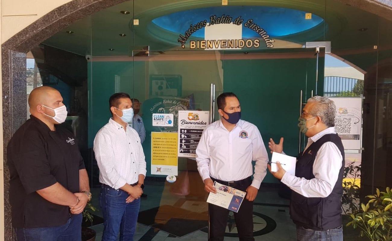 "Restauranteros de Ensenada alistan protocolo ""Mesa Segura"" para reapertura"