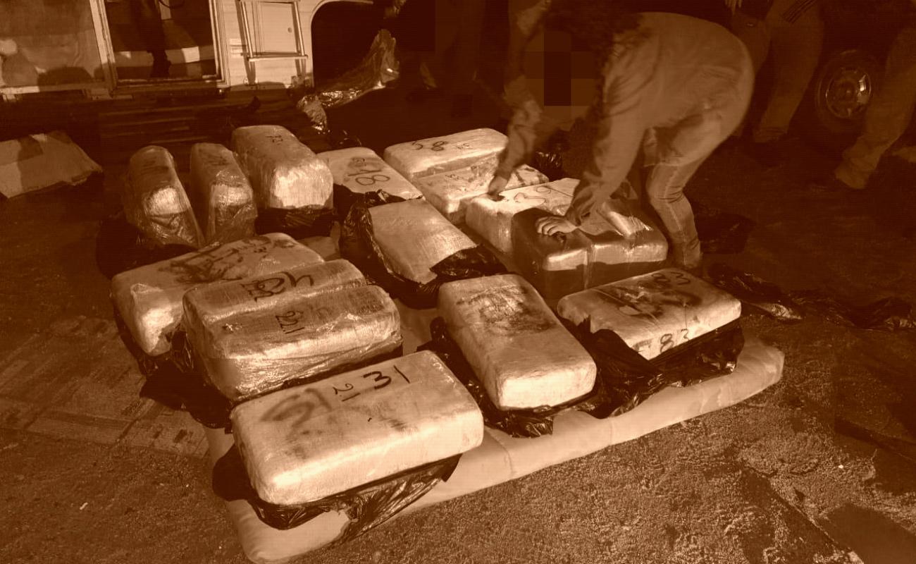 Aseguran 100 kilos de marihuana y dos embarcaciones en El Sauzal