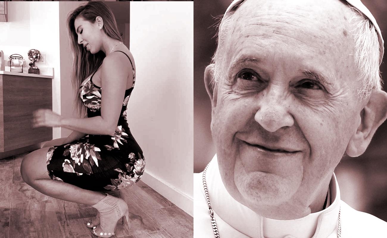 """El Vaticano investiga un """"me gusta"""" de la cuenta de Instagram del Papa Francisco a foto de modelo brasileña"""